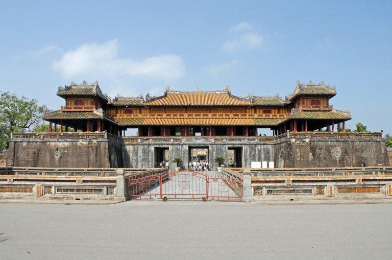 順化古城,見證中國文化留下的痕跡。(圖/Jean-Pierre Dalbéra@Flickr)