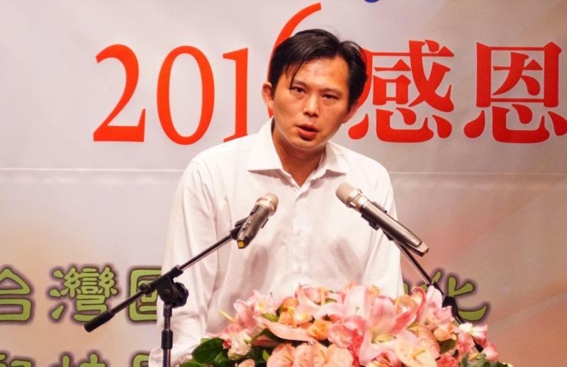 新世紀基金會感恩募款餐會 時代力量黨黨主席黃國昌