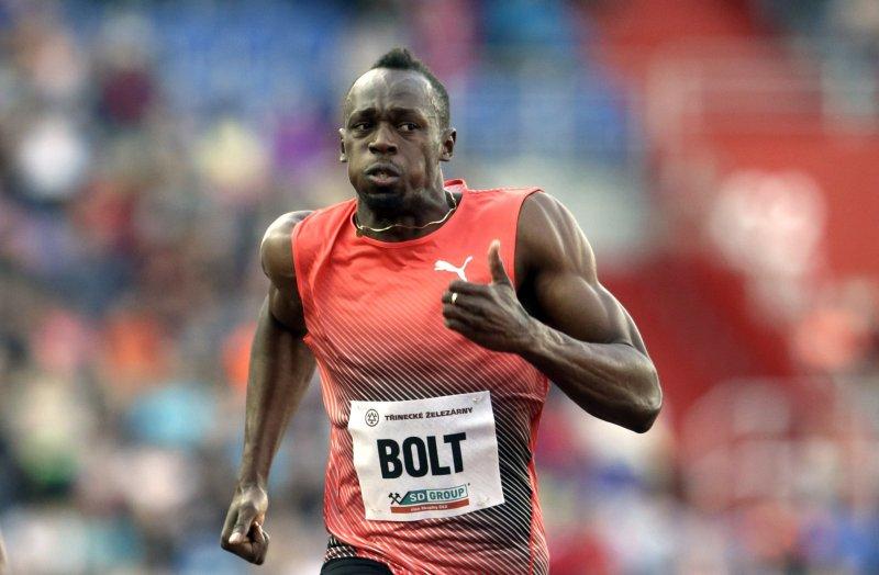 牙買加短跑巨星Usain Bolt。(美聯社)