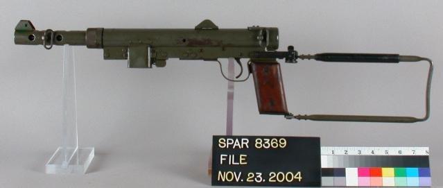 卡爾・古斯塔夫衝鋒槍。(維基百科)