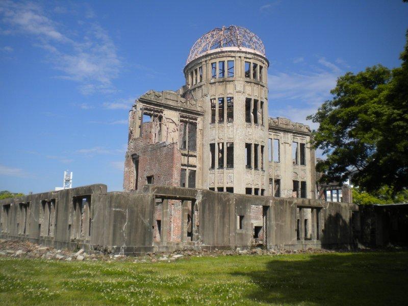 原子彈爆炸圓頂屋,是當時爆炸中心附近少數僅存的建築物,1996年被聯合國教科文組織列為世界遺產。 (圖/Yannick Dellafaille@flickr)