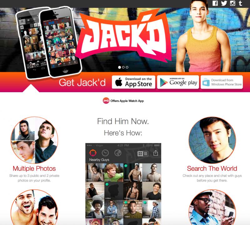 同志約會app「Jack'd」。