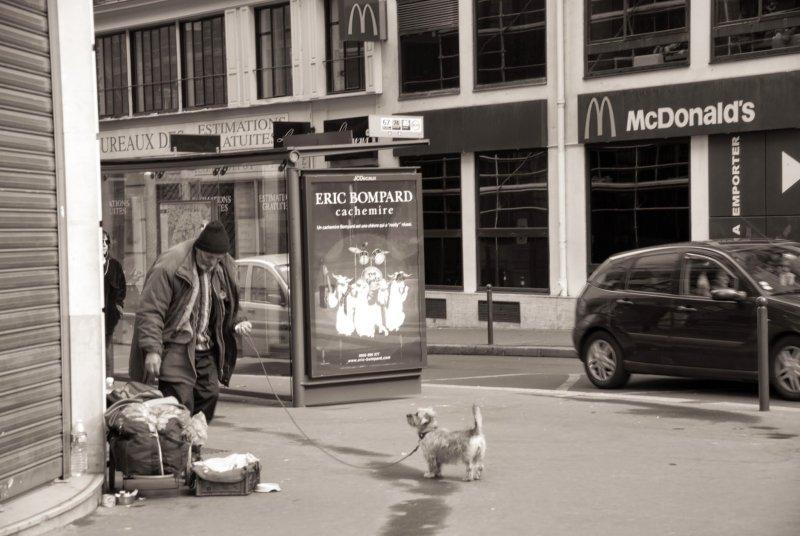 法國人總任寶貝毛小孩隨處便溺,住在巴黎,誰沒有踩過幾次狗大便呢?(印刻提供)