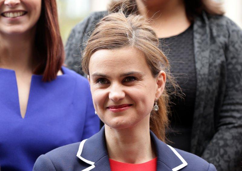 英國國會女議員柯克斯(Jo Cox)遭冷血刺殺。(美聯社)
