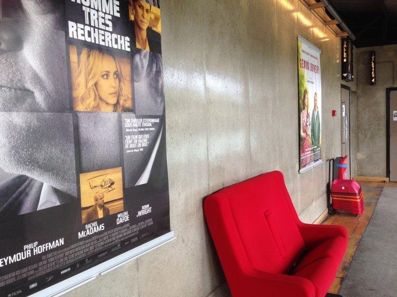 巴黎的電影院各具特色,獨立小劇院小廳小院,卻也沒有犧牲欣賞電影的舒適。(印刻提供)