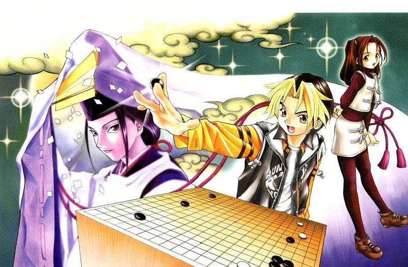 日本漫畫《棋靈王》,讓台灣增加不少圍棋人口。