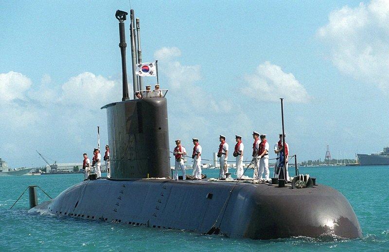 德製209型潛艦。圖為南韓李春號。(維基百科)
