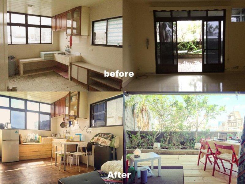 玖樓承租老舊公寓,改建後再以約市價八折出租。(圖/9Floor Apt. 玖樓@fb)