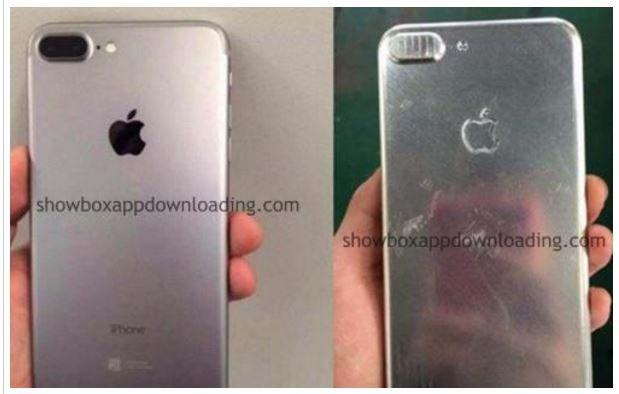 網路上流傳著,據稱是iPhone 7 Plus的間諜照,引起不少關注。(圖/showboxappdownloading.com)