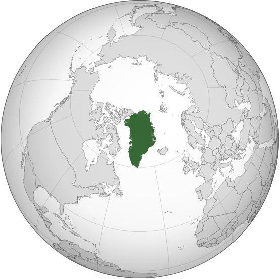 格陵蘭位置(維基百科)