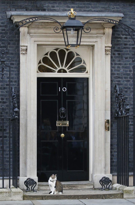 未來三個月,保守黨將決定誰將進駐首相宅邸。(圖/美聯社)