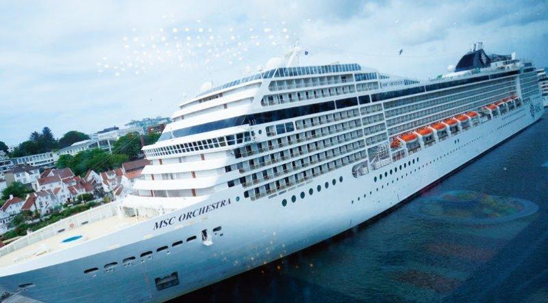 msc(Mediterranean Shipping Company)集團為地中海船運公司。(圖/太雅文化提供)