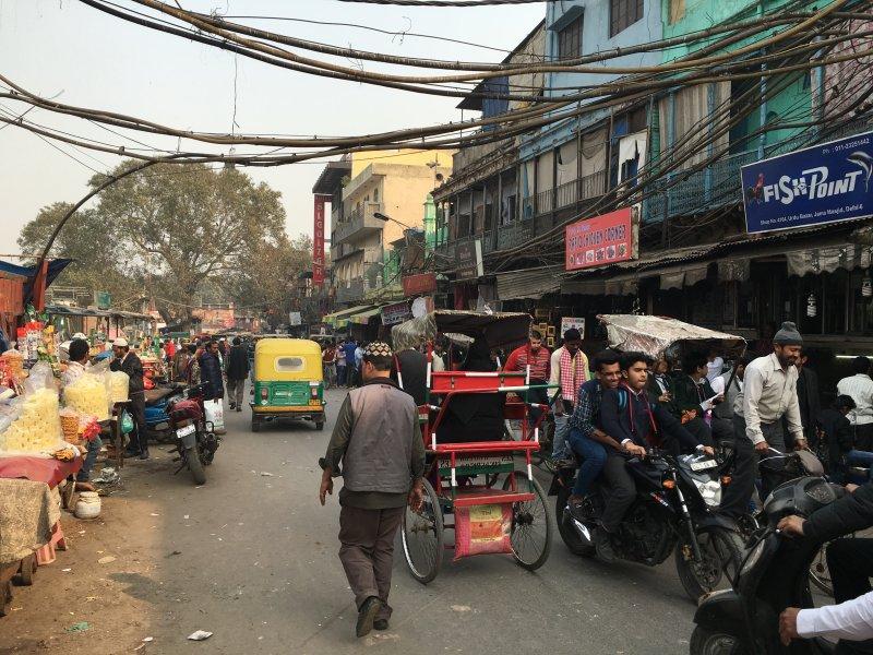印度街道(圖/印度尤)