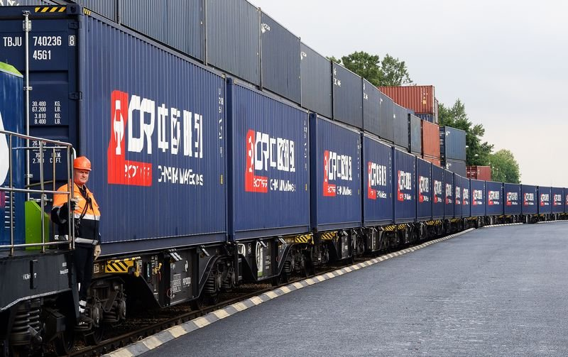 中國以「一帶一路」創造龐大的商機,吸引歐洲。(多維提供)