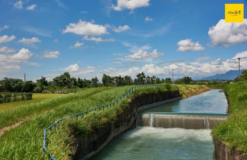 八十年過去,至今仍穩定發揮功能的給水路。