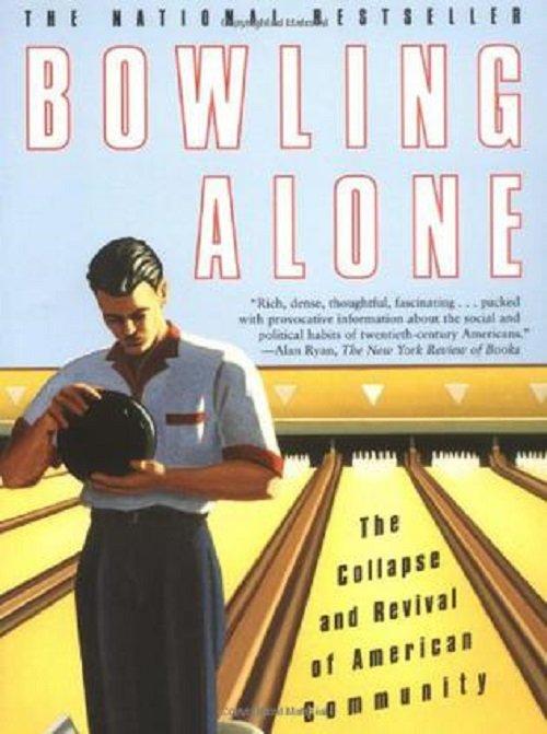 普特南的前一本書《Bowling Alone》。