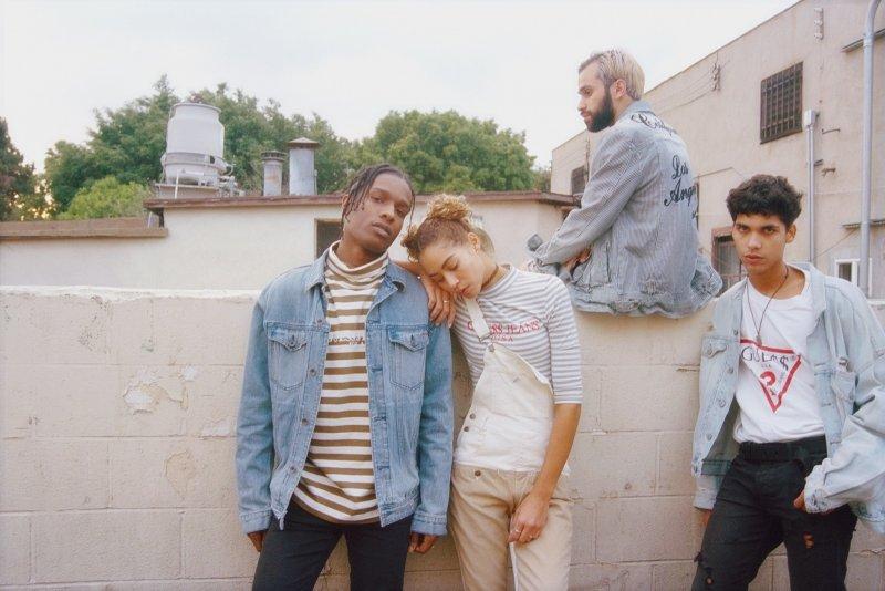 Originals x A$AP Rocky 系列隨處可見經典的90年代印象,象徵眾多如A$AP Rocky同樣時尚潮流者的共同成長時光。(圖/GUESS提供)