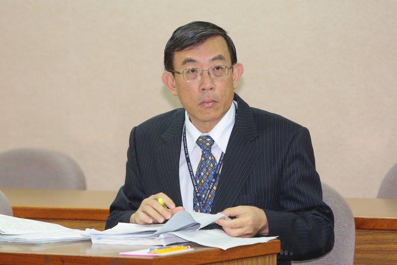 法務部次長邢泰釗7日出席交通委員會。(顏麟宇攝)