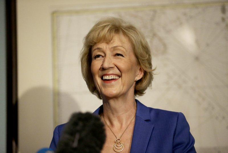 英國保守黨黨魁候選人利德索姆,將和梅伊角逐首相之位。(美聯社)