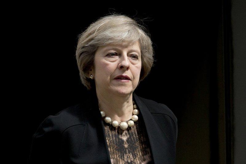 英國內政大臣梅伊(Theresa May)參選保守黨黨魁,如果當選,將成為英國歷史上第二位女首相(美聯社)