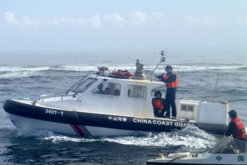 南海主權爭議,中國海警巡邏艇(美聯社)