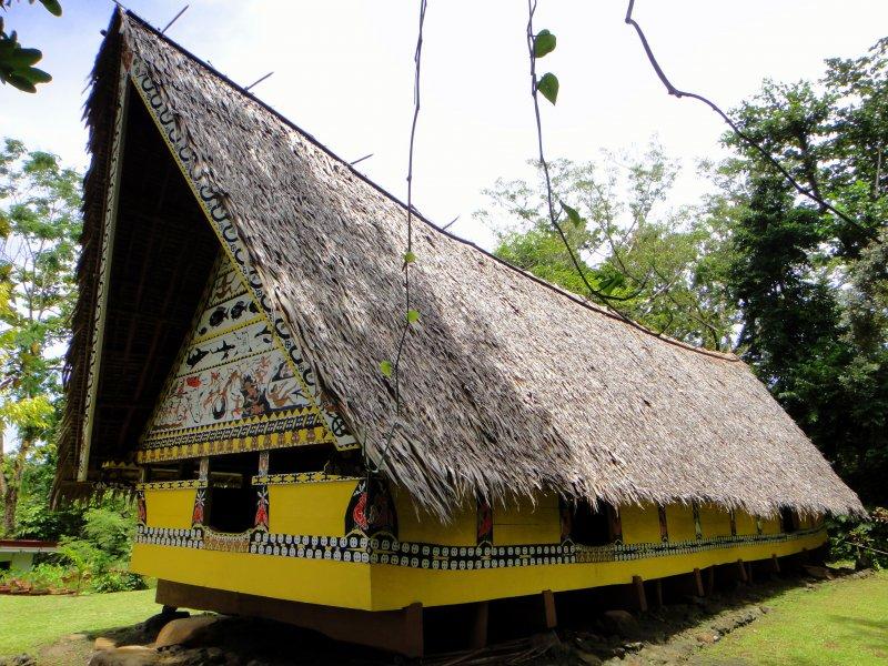 早期帛琉男人們的聚會場所—「男人會館」。(圖/Matt Kieffer@flickr)