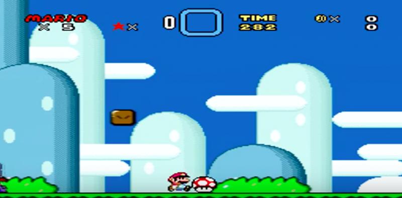 大家過去玩「超級瑪利歐」是不是曾經卡在同一關一直都過不去呢?(圖/Gamer's Little Playground@youtube)