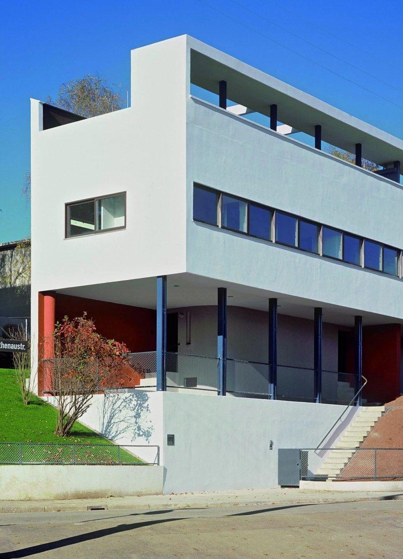 柯比意作品,Twin houses, Weissenhof(UNESCO/WHC)