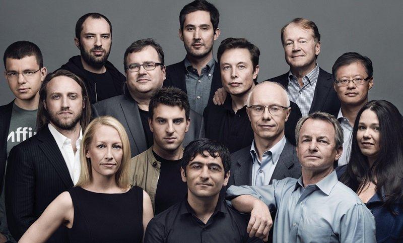 紅杉資本投資的十三位科技先驅,去年富比世以封面這群「紅杉軍團」。(富比世封面截圖/forbes.com)