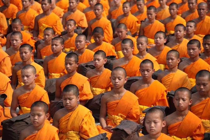 泰國僧侶。(取自Pixabay)