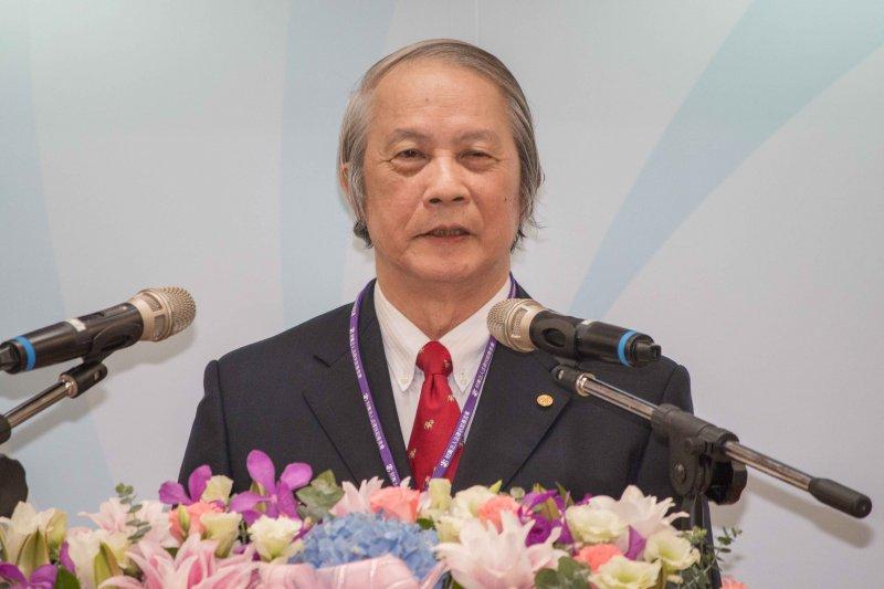 司法院長賴浩敏於「法律扶助基金會十二周年活動」發言。(李振均攝)