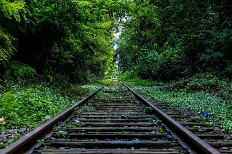 Janet將搭火車的旅途過程當成旅行的一部份,從沿路的風景找到樂趣。(圖/_ Liquid@flickr)
