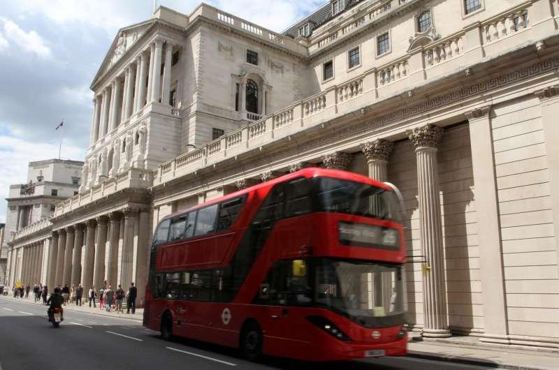 英國脫歐(Brexit)已經重創其經濟,這是英國央行「英格蘭銀行」。(美聯社)