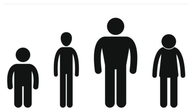 全球身高研究報告出爐,許多國家的平均身高出現下降趨勢。(圖源:翻攝網路)