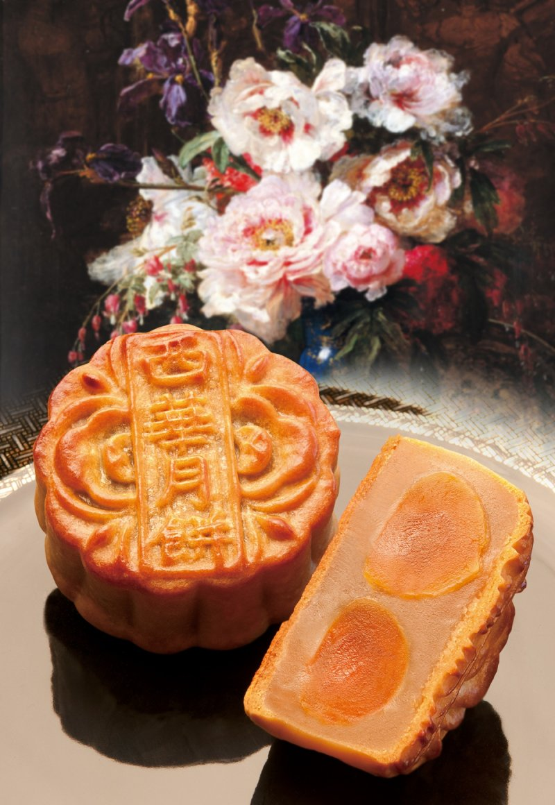 四款究極風味月餅恪守「三三三」守則,成就令人驚艷的中秋極品。(圖/台北萬豪酒店提供)
