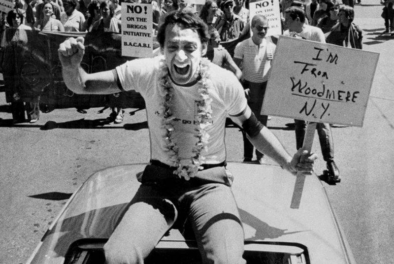 美國同志平權運動鬥士米爾克(Harvey Milk)(取自網路)