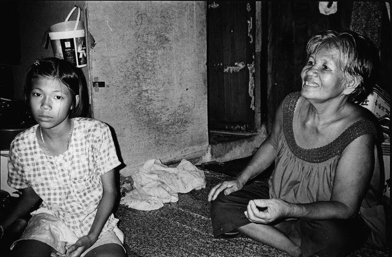 蘇妮和媽媽的棚屋。