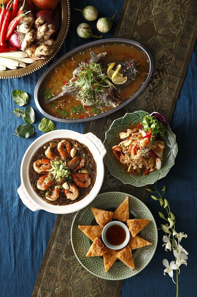 SUKHOTHAI新光信義店為美食派對增添濃濃的南島風采,輕鬆盡享南洋風情!(圖/SUKHOTHAI提供)