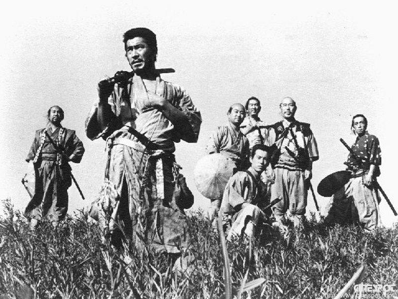 黑澤明的經典作品《七武士》將武士特質描繪極致傳神。(圖/ORAZ Studio @flickr)