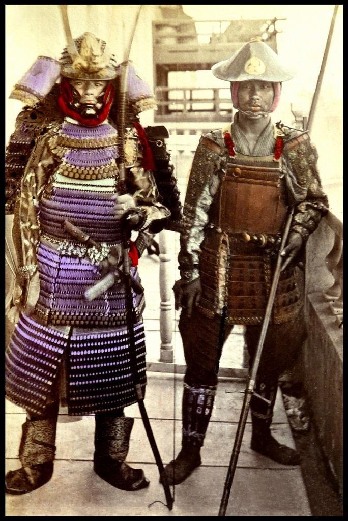 武士裝成為博物館裡頭重要的展覽品之一。(圖/RV1864 @flickr)