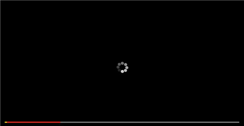 線上看片,最容易半途中斷,在等待繼續播放的過程中,早已失去追劇的好心情。(圖/擷取自 youtube )