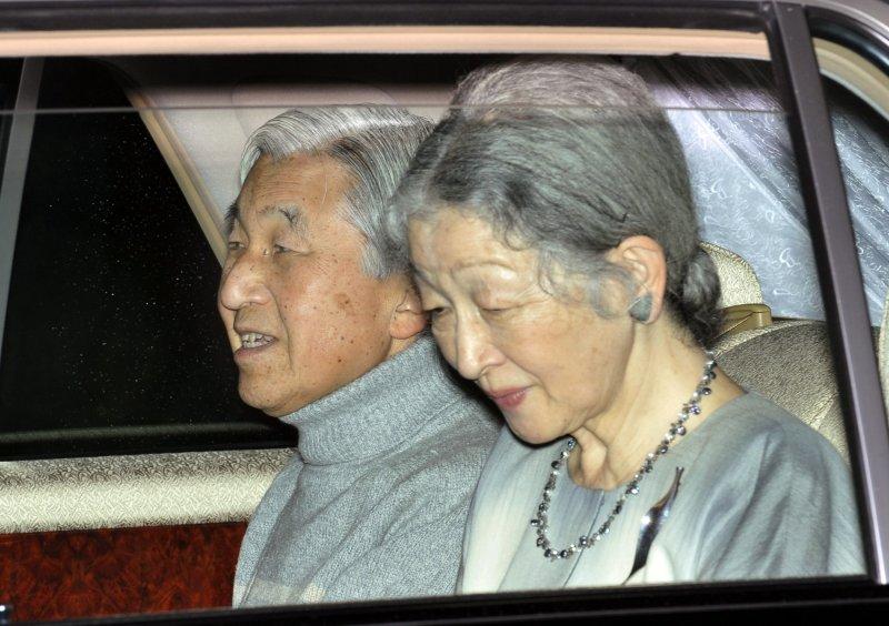 日本明仁天皇與皇后美智子(美聯社)