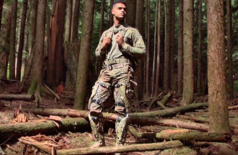 降低士兵的負重後,可以大幅提升執行任務的效率。(圖/ Bionic Power Inc.@Vimeo)