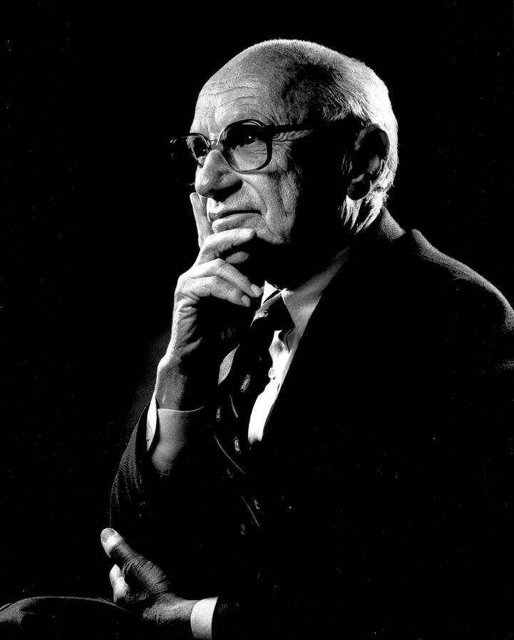 諾貝爾經濟學獎得主米爾頓‧傅利曼(Milton Friedman)