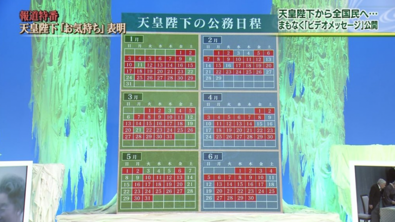 天皇公務繁忙,七月份公務行程高達40件。(圖/swu25251@twitter)