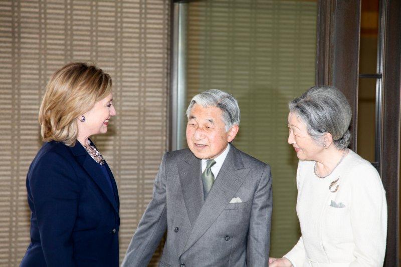 日本國憲法規定天皇的國事行為,其中包含接見他國外交人員。(圖/StateHubs@flickr)