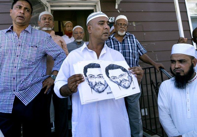 美國穆斯林組織CAIR懸賞1萬美金,希望早日逮捕兇手。(美聯社)
