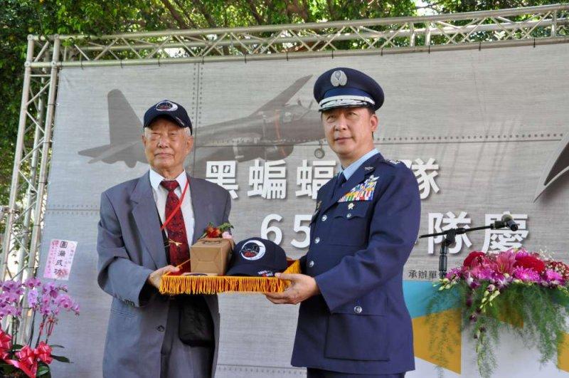 新竹市政府16日舉辦黑蝙蝠中隊65週年隊慶。(新竹市文化局提供)