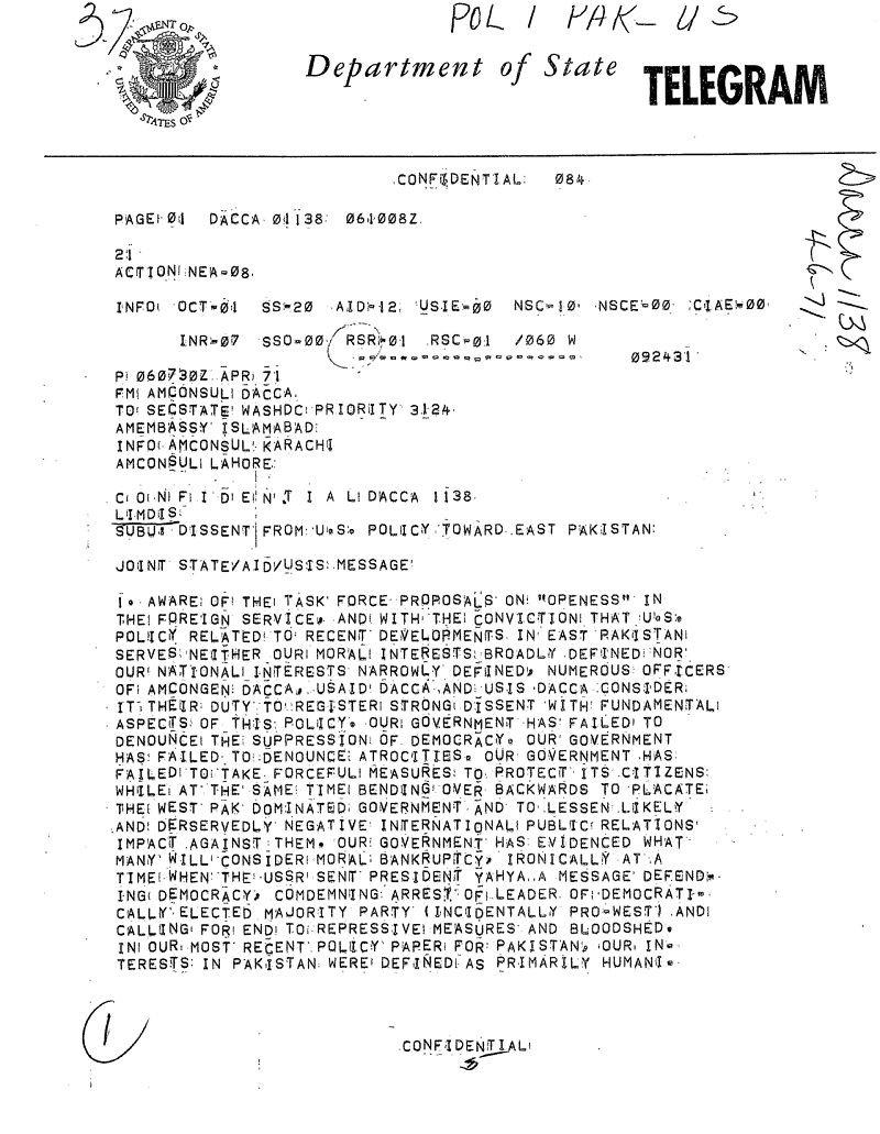 (The Blood Telegram, 來源:Wikipedia)