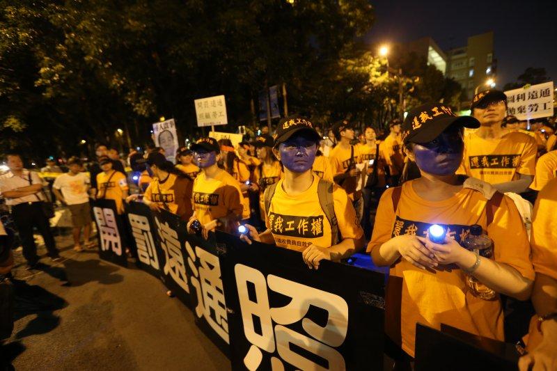 20140604JW-SMG0012-2139-國道收費員總統官邸抗議 -吳逸驊攝.JPG